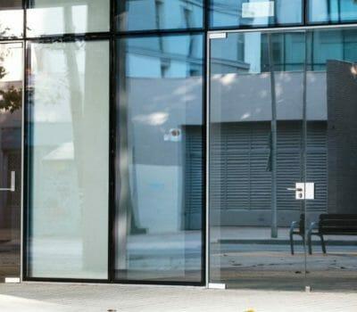 Aluminium Shopfront Installation